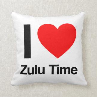 amo tiempo del Zulú Almohada
