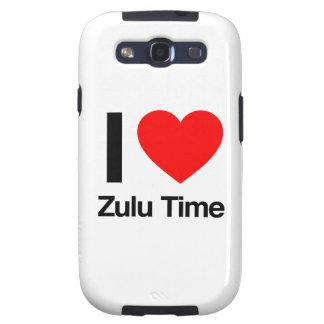 amo tiempo del Zulú Galaxy S3 Fundas