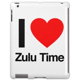 amo tiempo del Zulú Funda Para iPad