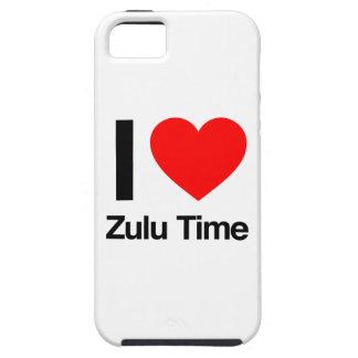 amo tiempo del Zulú iPhone 5 Carcasa