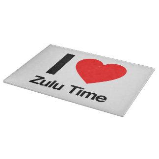 amo tiempo del Zulú Tabla De Cortar