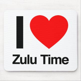 amo tiempo del Zulú Tapetes De Raton
