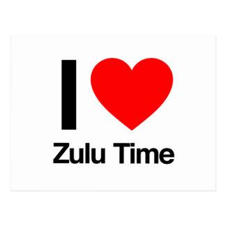 amo tiempo del Zulú Postal