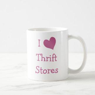 Amo tiendas de descuento taza de café