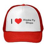 Amo tiendas de la mosca de Alaska Gorras De Camionero