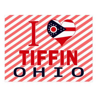 Amo Tiffin, Ohio Tarjetas Postales