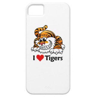 Amo tigres iPhone 5 coberturas