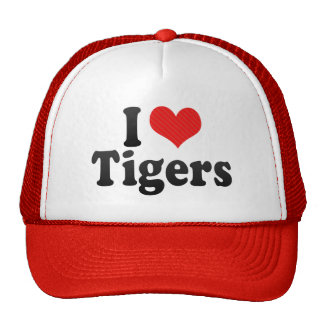 Amo tigres gorro de camionero
