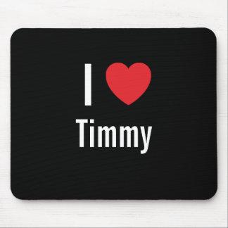 Amo Timmy Alfombrillas De Ratón
