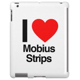 amo tiras de mobius funda para iPad