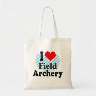Amo tiro al arco de campo bolsas