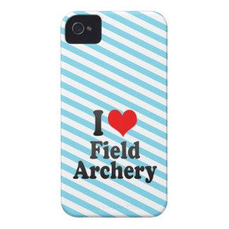 Amo tiro al arco de campo iPhone 4 Case-Mate carcasas