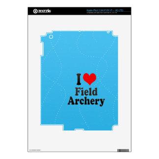 Amo tiro al arco de campo iPad 3 skin