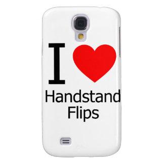 Amo tirones del Handstand Funda Para Galaxy S4