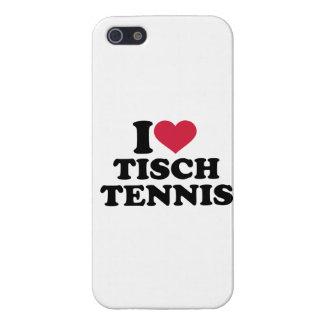 Amo Tischtennis iPhone 5 Fundas