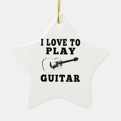 Amo tocar la guitarra ornato