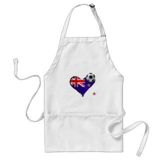 Amo todo el fútbol de bandera de Nueva Zelanda de  Delantal