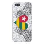 Amo Togo - alas iPhone 5 Carcasa