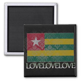 Amo Togo fresco Imanes