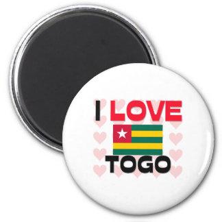 Amo Togo Imán De Frigorífico