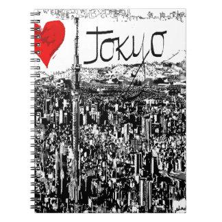 Amo Tokio Libreta Espiral