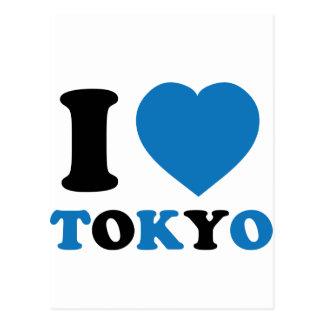 Amo Tokio Tarjeta Postal