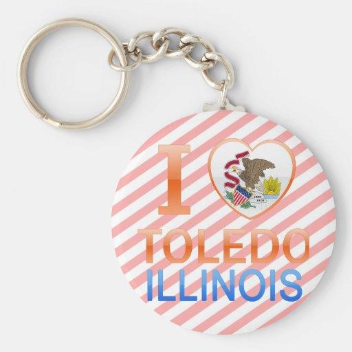 Amo Toledo, IL Llavero