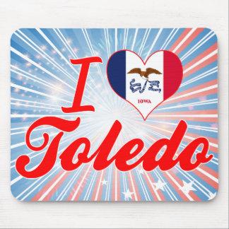 Amo Toledo, Iowa Tapetes De Ratones