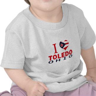 Amo Toledo, Ohio Camisetas