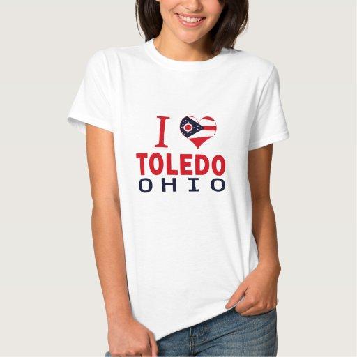 Amo Toledo, Ohio Playeras