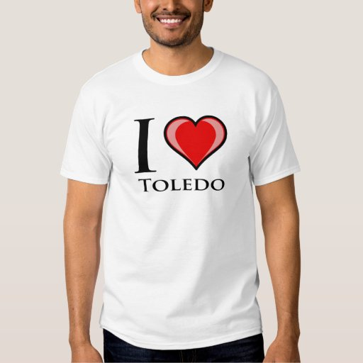 Amo Toledo Playeras