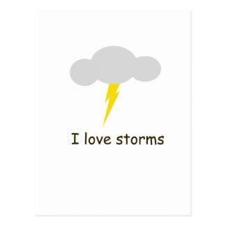 Amo tormentas postal