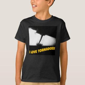 ¡Amo tornados! Camiseta del ©