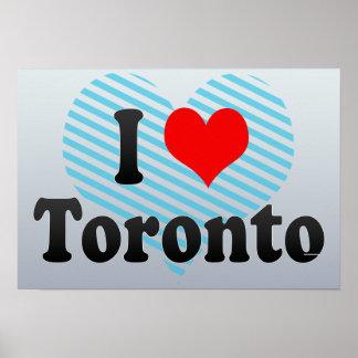 Amo Toronto Canadá Impresiones