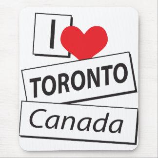 Amo Toronto Canadá Tapete De Raton