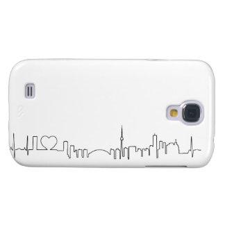Amo Toronto en un estilo extraordinario del ecg Funda Para Galaxy S4