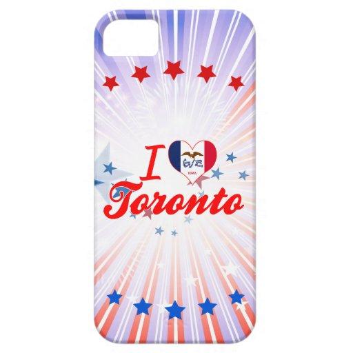 Amo Toronto, Iowa iPhone 5 Fundas