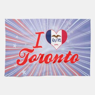 Amo Toronto, Iowa Toalla De Cocina