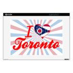 Amo Toronto, Ohio Calcomanía Para Portátil