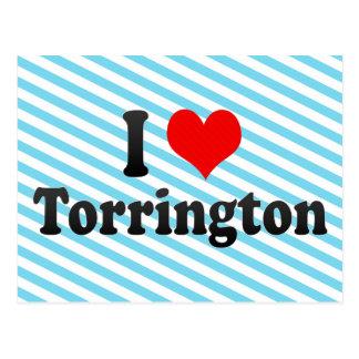 Amo Torrington, Estados Unidos Tarjeta Postal