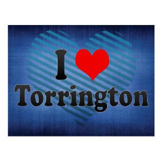 Amo Torrington, Estados Unidos Tarjetas Postales