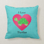 Amo tortugas almohada