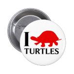 Amo tortugas pins