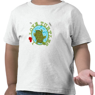Amo tortugas camisetas