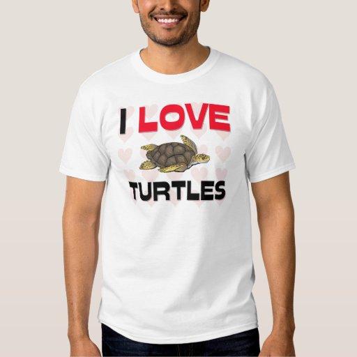 Amo tortugas playeras