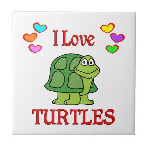 Amo tortugas teja