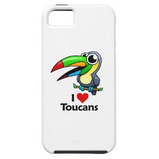 Amo Toucans iPhone 5 Cobertura