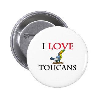 Amo Toucans Pin