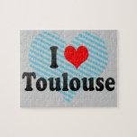 Amo Toulouse, Francia Rompecabezas Con Fotos