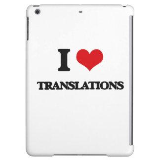 Amo traducciones